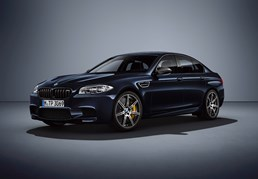 BMW Rolls Out Exclusive M5 Competition Edition