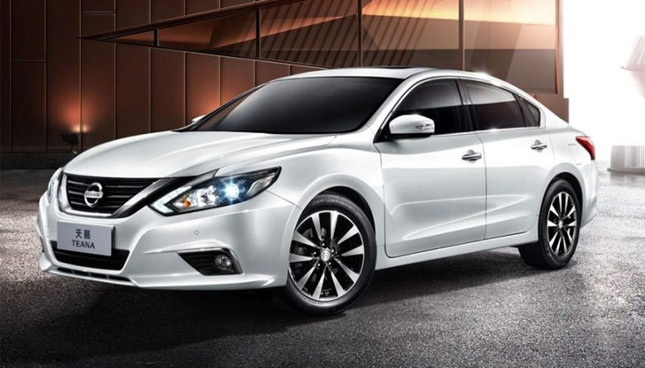 Nissan Altima Facelift Breaks Cover In China