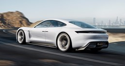 Porsche Mission E - Tribute to Tomorrow