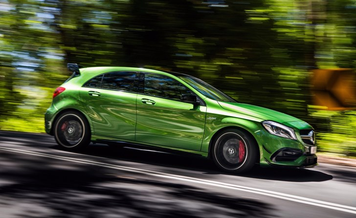 Merc-AMG Reported To Be Throwing More Power At Next A45