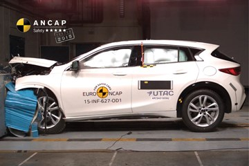 Infiniti's Q30 Hatch Given 5-Stars From ANCAP