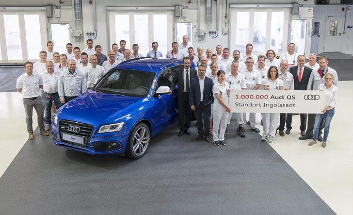 Audi's Ingolstadt Plant Rolls Out Its One Millionth Q5