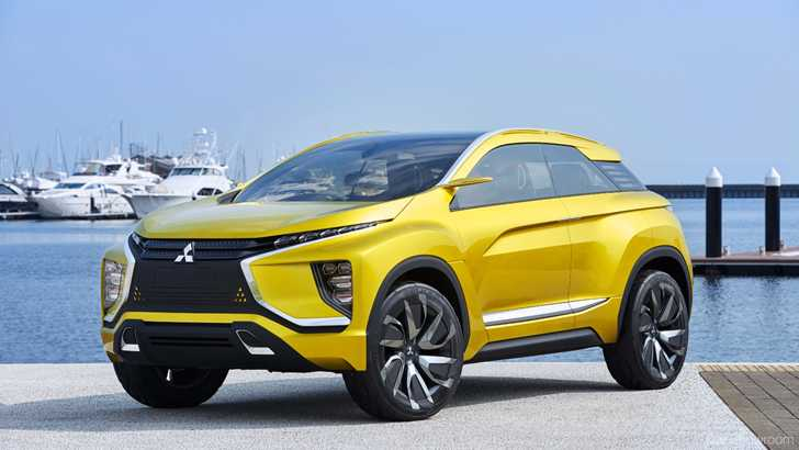 Mitsubishi Again Previews XM 7 Seater Crossover