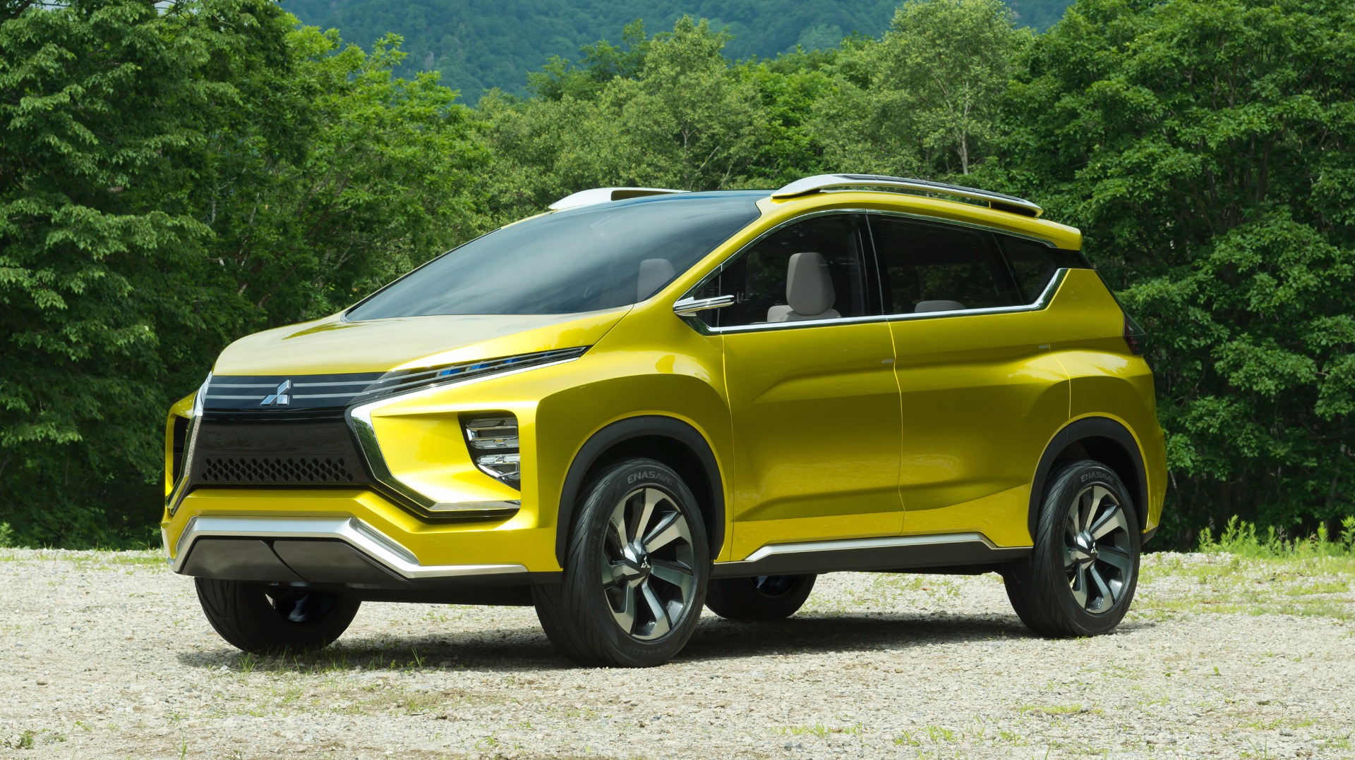 News Mitsubishi Again Previews Xm 7 Seater Crossover