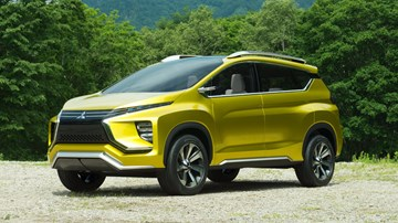 Mitsubishi Again Previews XM, 7-Seater Crossover