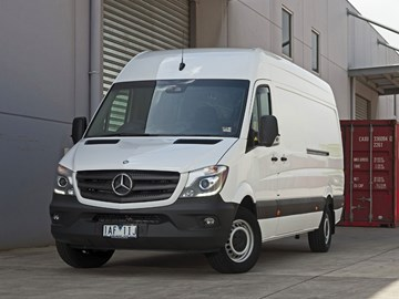 Mercedes-Benz's Next Sprinter Van To Be Fully Electric