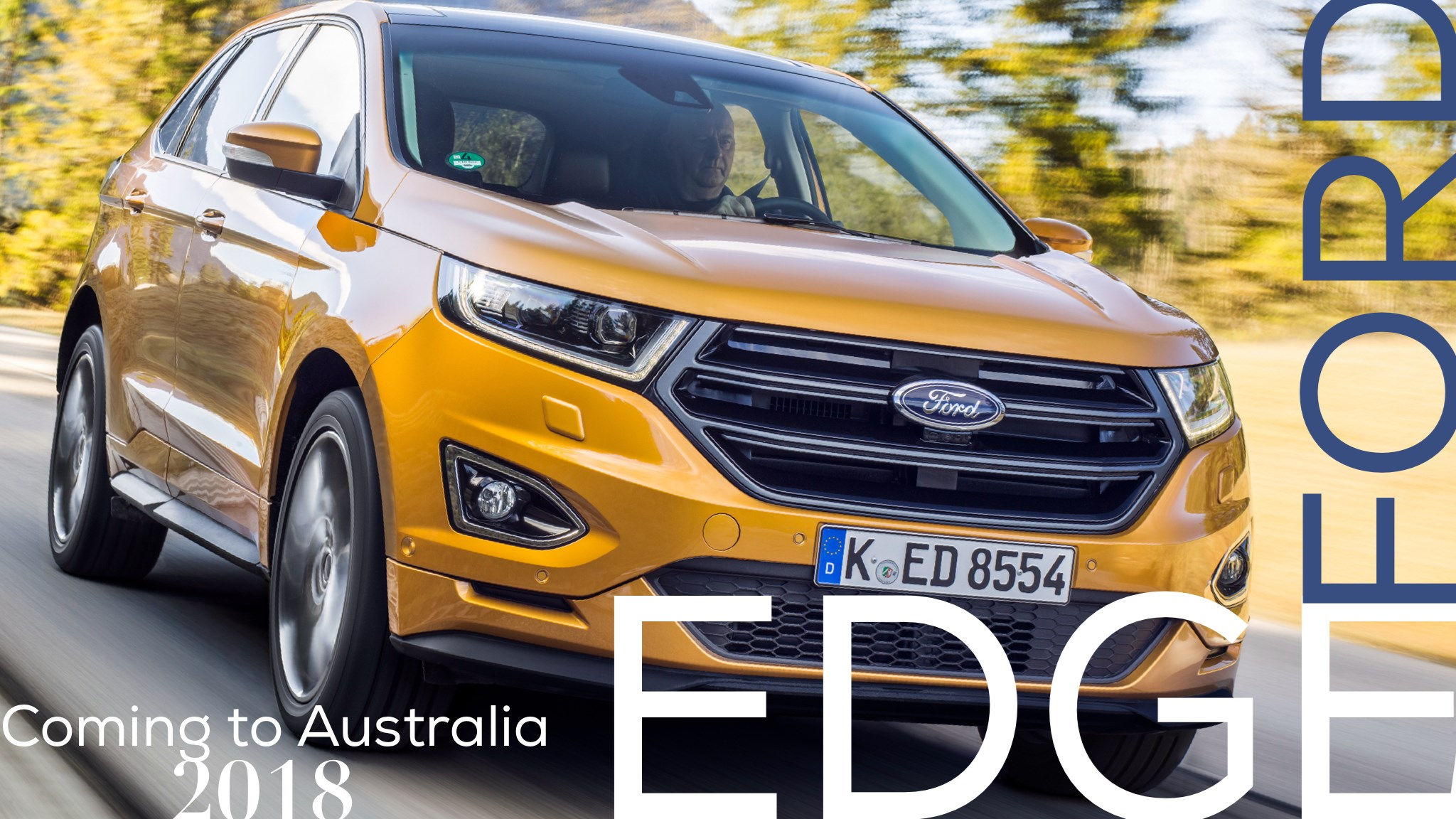 Ford Australia Confirms 2018 Edge SUV Introduction