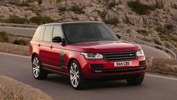2017 Range Rover Gets Extensive Tech, Engine Updates