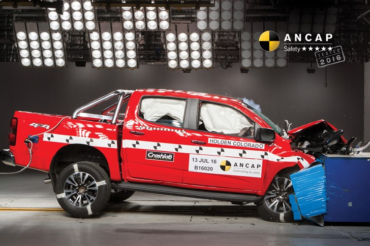 ANCAP Hands Updated Holden Colorado 5-Stars