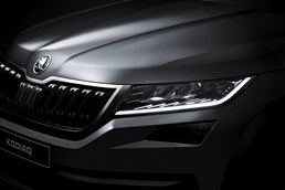 Skoda Releases First Teasers Of Kodiaq SUV