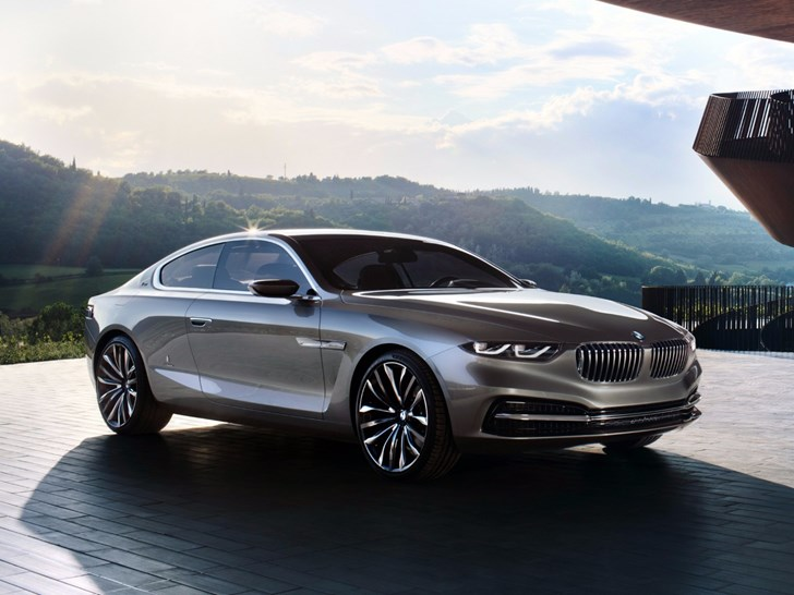 BMW 8 Series May Return To Battle Merc S-Class Coupe