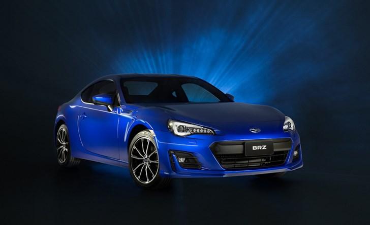 Subaru Australia Reveals 2017 BRZ Specs