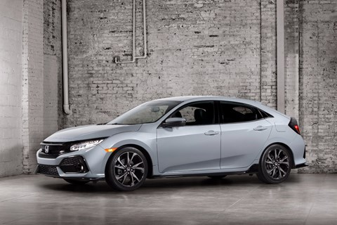 Honda Reveals First Official Photos Of All-New Civic Hatch