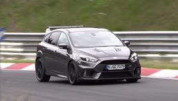 2018 Ford Focus RS500 Prototype Nurburgring Testing