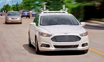 Ford Fully Autonomous Cars - Ford Fusion - Prototype