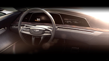Cadillac OLED Instrument Cluster Previews Virtual Cockpit Rival