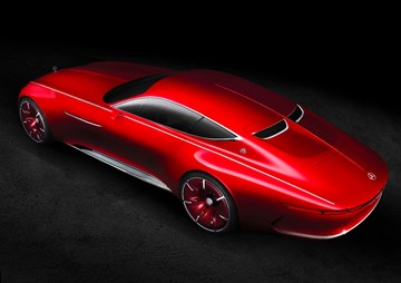 Vision Mercedes-Maybach 6 Coupe Concept Officially Revealed