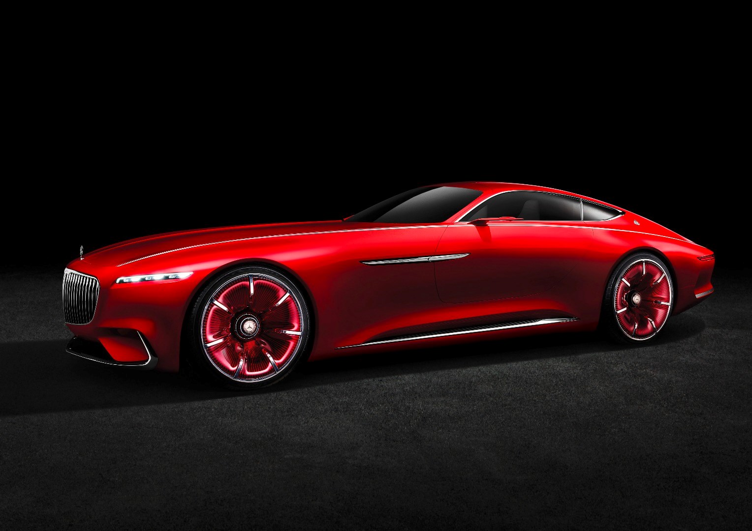 Vision Mercedes-Maybach 6 Coupe Concept Officially Revealed Thumbnail