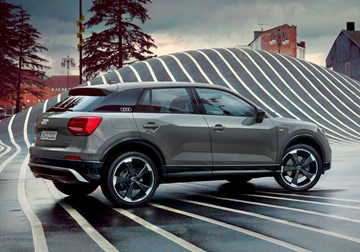 Audi's Q2 Edition #1 Adds Drama To Crossover