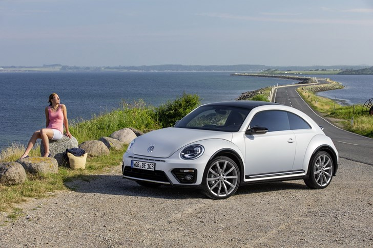 Volkswagen's Beetle Updated For 2017, Funky As Ever