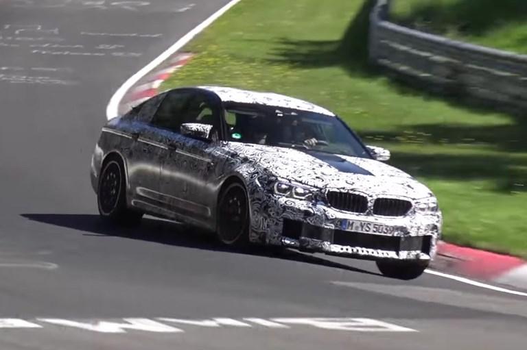 2018 BMW M5 - Prototype - Nurburgring Testing