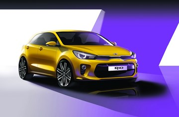 Kia Teases 2017 Rio Before Paris Unveil