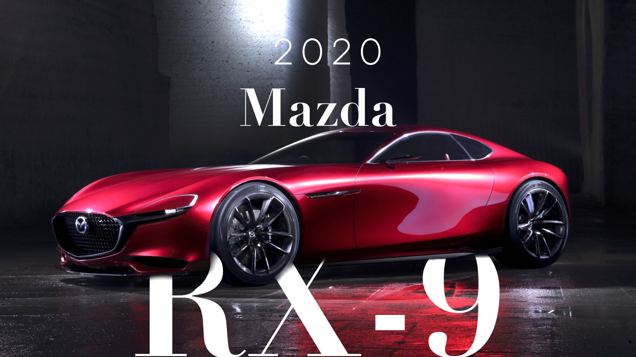 2020 Reveal For Mazda's 300kW RX-9?