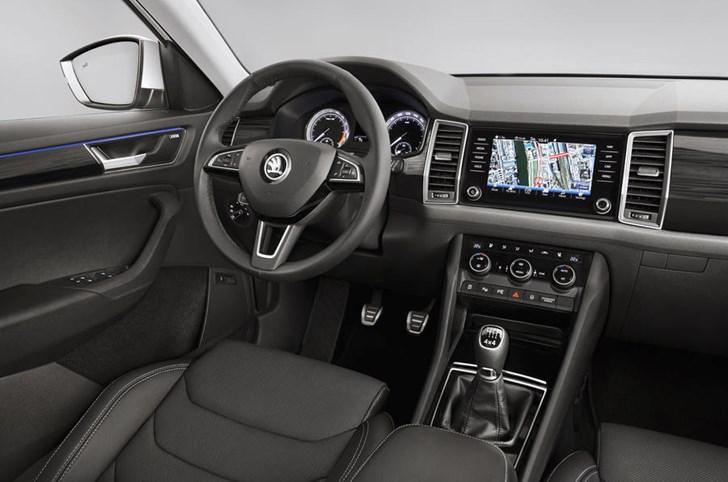 Skoda Previews Kodiaq SUV Interior