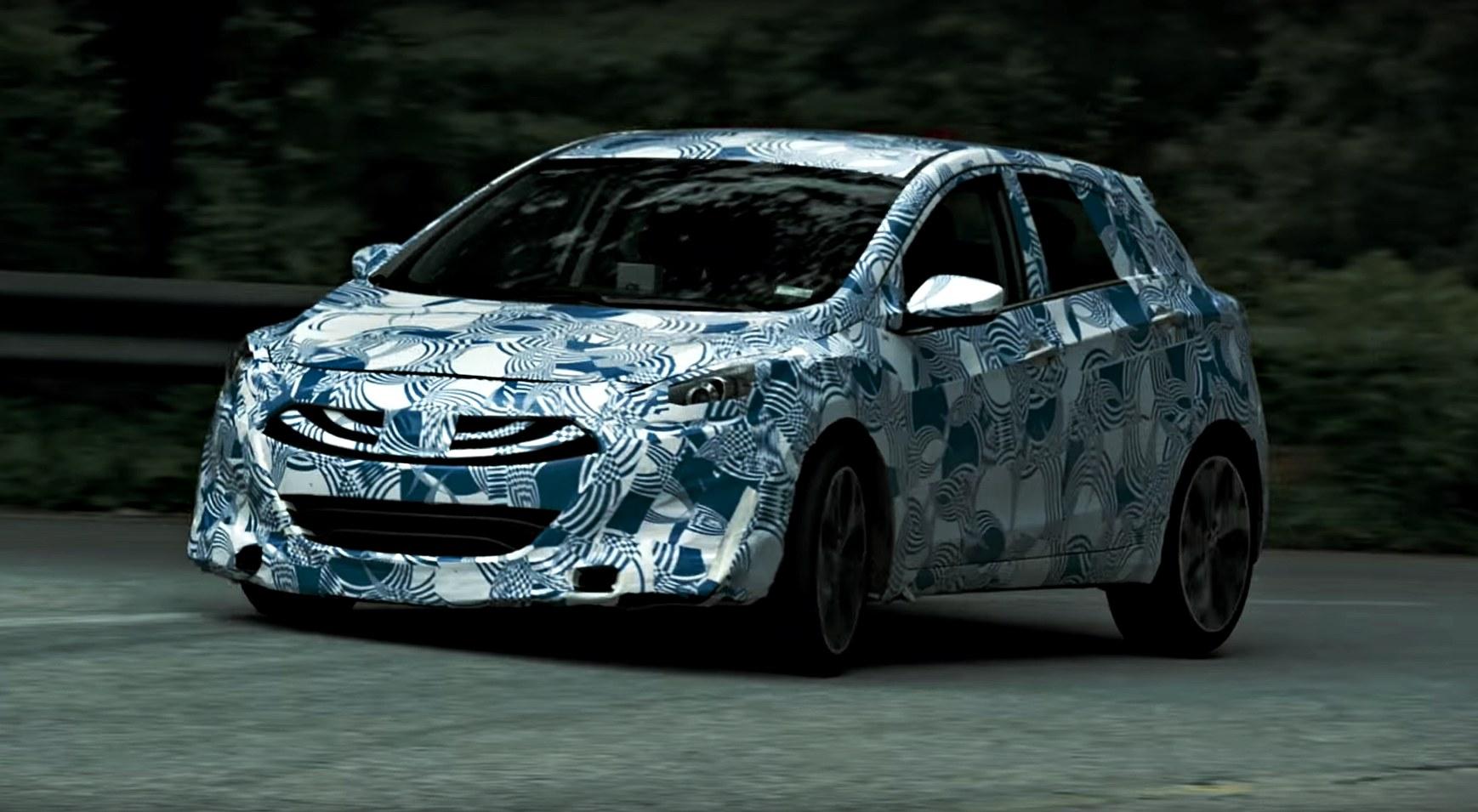 News Hyundai Teases Hot I30n On Mountain Road