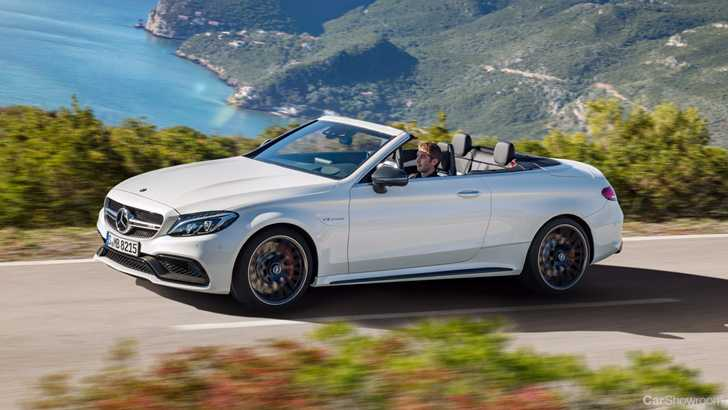 News mercedes benz announces pricing for c class cabriolet for Drop top mercedes benz prices
