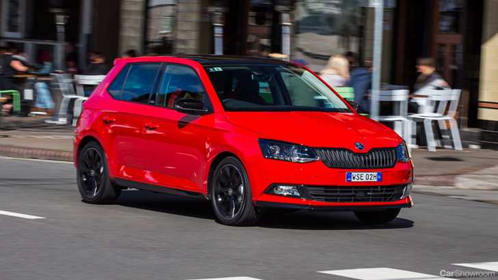 news skoda australia launches sportier fabia monte carlo. Black Bedroom Furniture Sets. Home Design Ideas