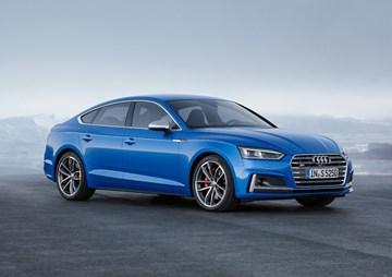 2017 Audi A5, S5 Sportback