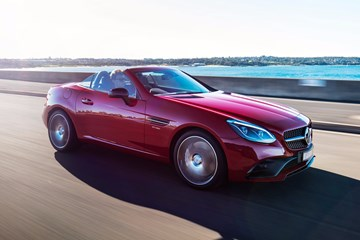 2016 Mercedes-Benz SLC - Australia