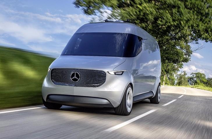 Mercedes-Benz's Vision Van Wants To Reinvent Deliveries