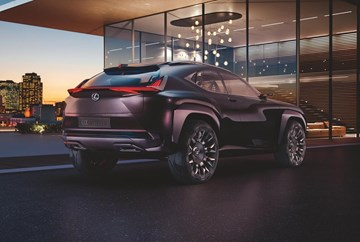 Lexus Teases UX Concept, Paris Debut For Sporty Crossover