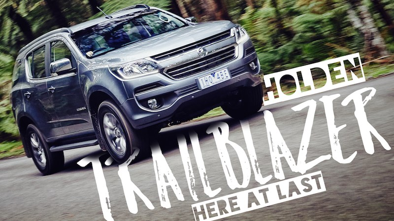 Holden's All-New Trailblazer SUV Enters The Fray