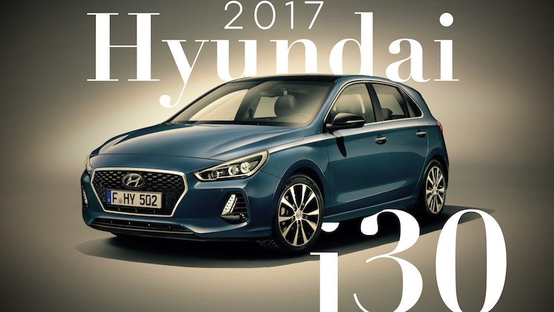 Hyundai's All-New i30 Gets Full Worldwide Reveal