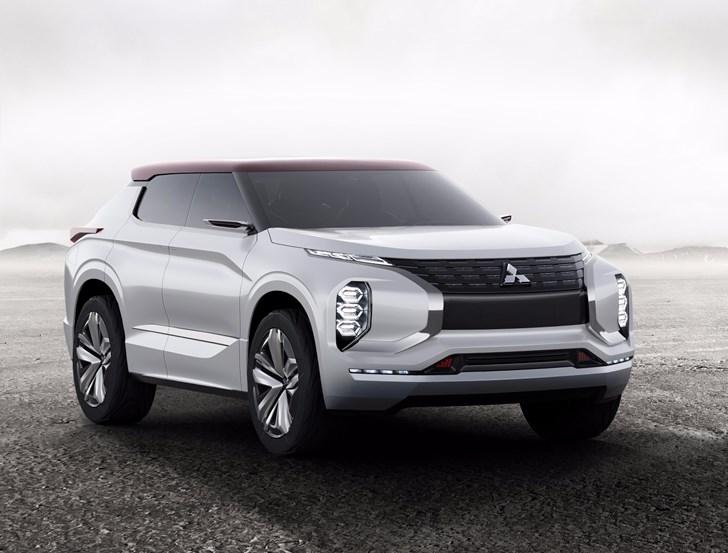 Mitsubishi Teases Paris Bound GT-PHEV Concept