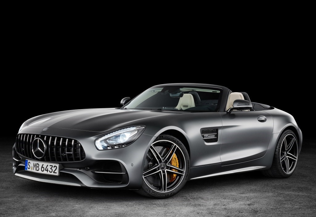 Mercedes-AMG GT, GT C Roadster Revealed Before Paris Thumbnail