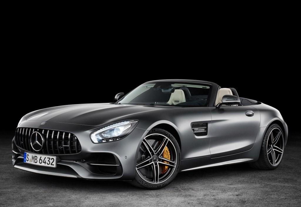 Mercedes-AMG GT, GT C Roadster Revealed Before Paris Thumbnail
