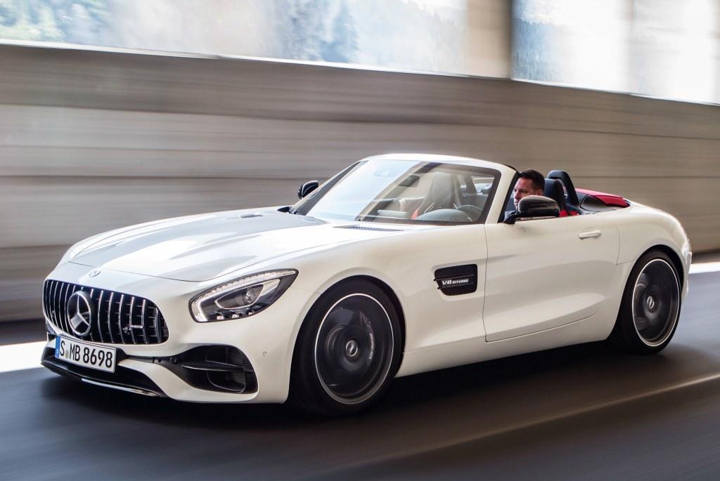 News Mercedes Amg Gt Gt C Roadster Revealed Before Paris