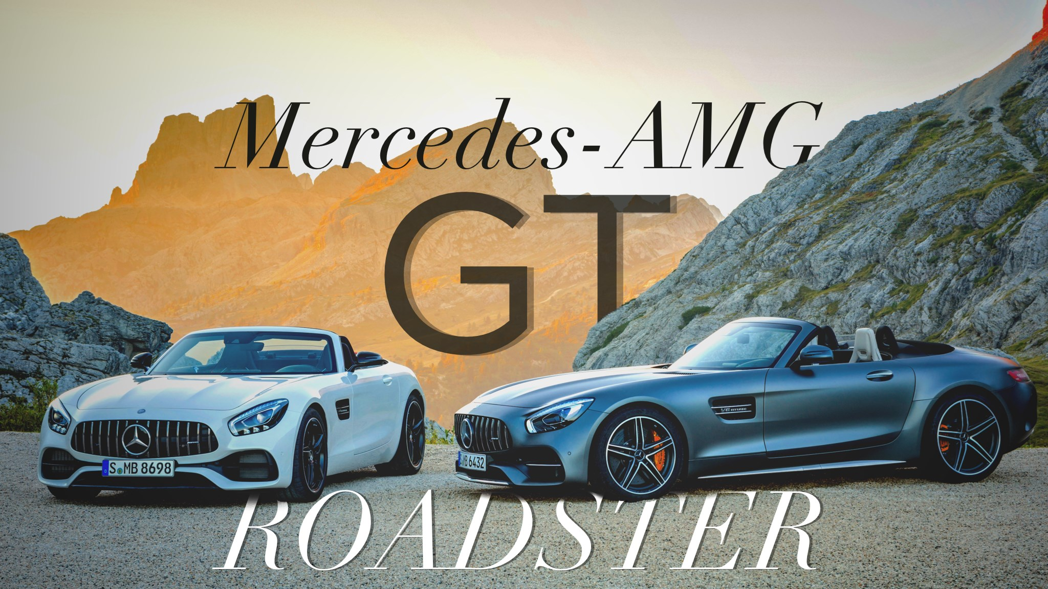 Mercedes-AMG GT, GT C Roadster Revealed Before Paris