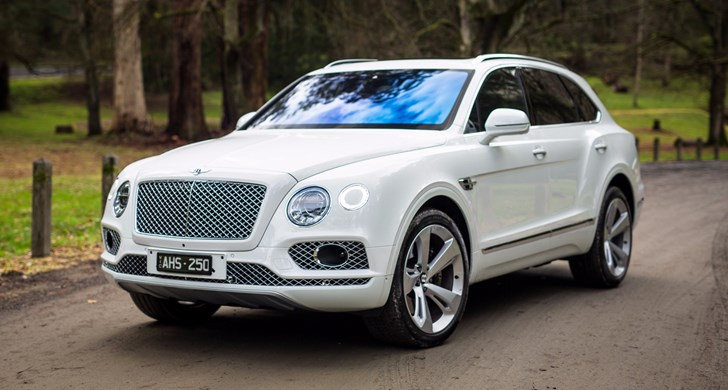 Bentley Announces Diesel Bentayga For 2017 Debut