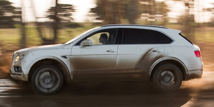 Bentley Announces Diesel Bentayga For 2017 Debut