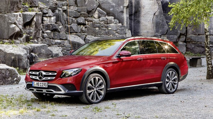 Mercedes-Benz Reveals New E-Class All-Terrain