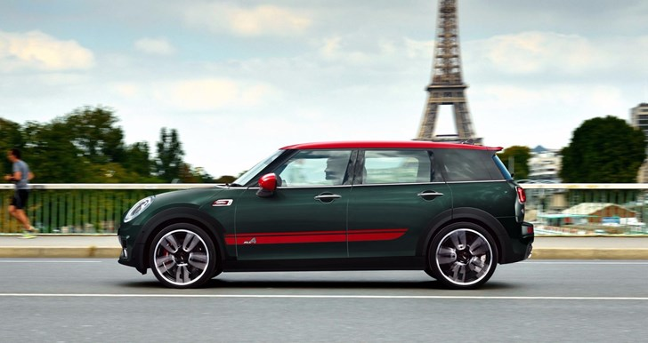 MINI Outs 170kW Clubman JCW For Paris Debut