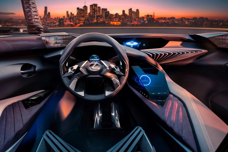 2016 Lexus UX Concept Interior Preview