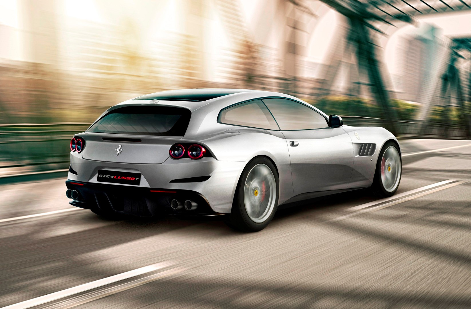 Ferrari Unveils New GTC4 Lusso T With 449kW V8 Turbo Thumbnail