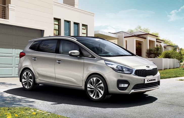 Kia Announces Upgrades To Carens MPV For 2017