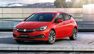 2017 Holden Astra Arriving In December